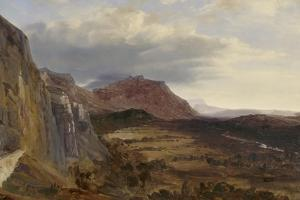 View of Saleve, near Geneva, 1834 by Theodore Rousseau