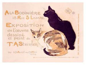 Bodiniere Expo by Théophile Alexandre Steinlen