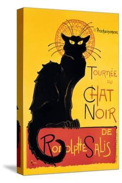 Chat Noir by Théophile Alexandre Steinlen