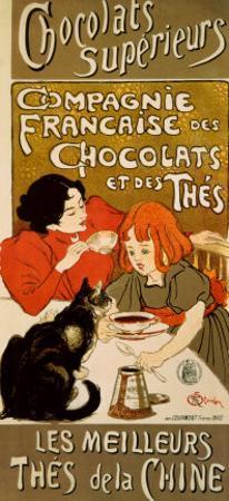 Chocolat by Théophile Alexandre Steinlen