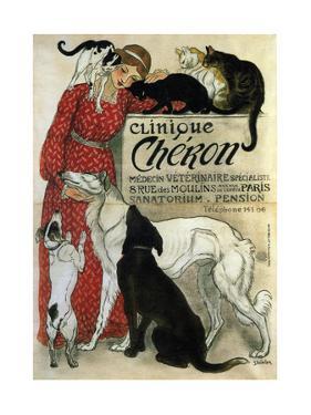Clinique Chéron, 1905 by Théophile Alexandre Steinlen