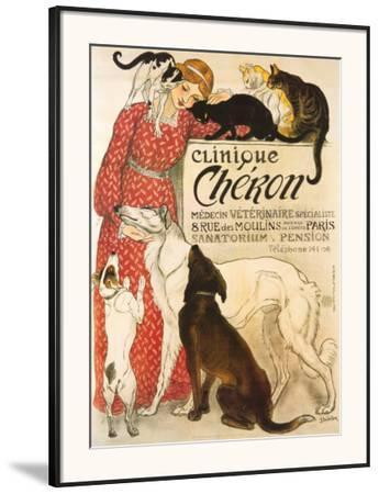 Clinique Cheron, c.1905 by Théophile Alexandre Steinlen