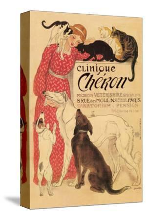 Clinique Cheron by Théophile Alexandre Steinlen