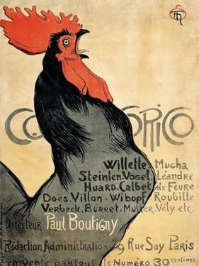 Cocorico, 1899 by Theophile-Alexandre Steinlen