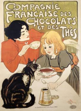 Compagnie Francaise des Chocolats et Thes by Théophile Alexandre Steinlen