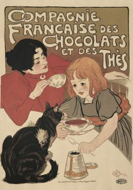 Compagnie Francaise des Chocolats by Théophile Alexandre Steinlen