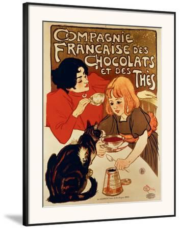 Compagnie Francaise by Théophile Alexandre Steinlen