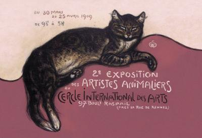 Exposition des Artistes Animaliers by Théophile Alexandre Steinlen