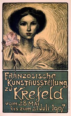 Franzosische Kunstausstellung zu Krefeld by Théophile Alexandre Steinlen