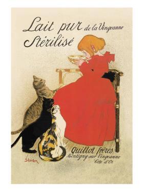 Lait Pur de la Vingeanne Sterilise by Théophile Alexandre Steinlen