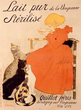 Lait Pur Sterilise Cats by Théophile Alexandre Steinlen