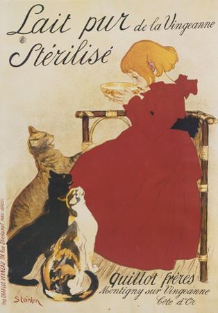 Lait Sterilise by Theophile-Alexandre Steinlen