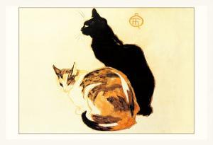 Les Chats by Théophile Alexandre Steinlen