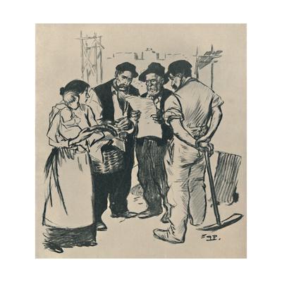 'Retour En Arrière', c1894, (1919)