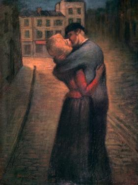The Kiss, C1879-1923 by Theophile Alexandre Steinlen