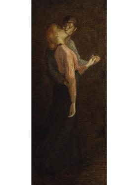 The Kiss by Théophile Alexandre Steinlen