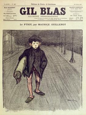 The Little Boy, from 'Gil Blas', 1897 (Colour Litho) by Théophile Alexandre Steinlen