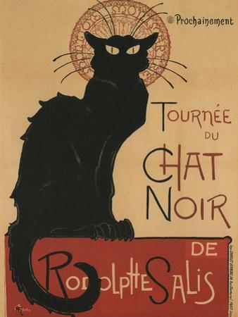 Tournee Du Chat Noir, 1896 by Théophile Alexandre Steinlen