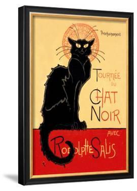 Tournee du Chat Noir Avec Rodolptte Salis by Théophile Alexandre Steinlen
