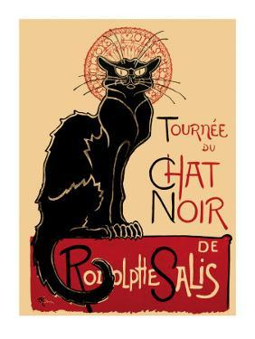 Tournee du Chat Noir, c.1896 by Théophile Alexandre Steinlen