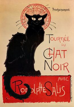 Tournee Du Chat Noir by Théophile Alexandre Steinlen