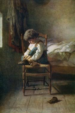 Alone, 19th Century by Theophile Emmanuel Duverger