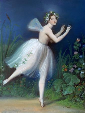Portrait of Carlotta Grisi in Giselle, 1841