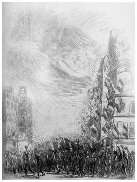 2nd August, C1840-1900 by Theophile Steinlen