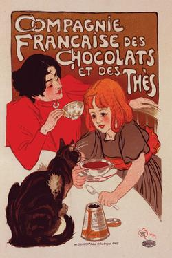 Compagnie Francaise des Chocolats by Théophile Steinlen