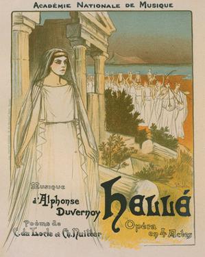 Hellé Opéra de Duvernoy by Théophile Steinlen