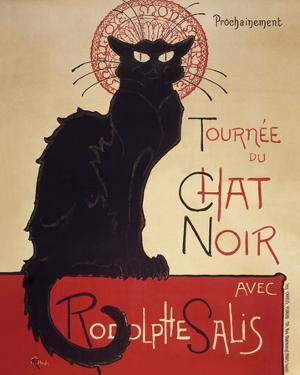 Le Chat Noir by Theophile Steinlen