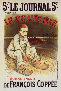Le Coupable de Francois Coppée by Théophile Steinlen