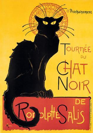 Theophile Steinlen- Chat Noir by Theophile Steinlen