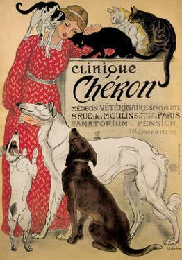 Theophile Steinlen- Clinique Cheron by Theophile Steinlen