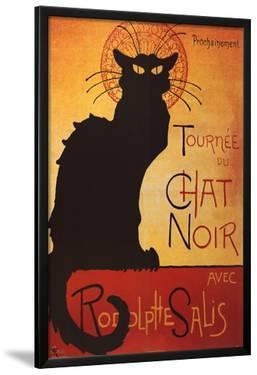 Theophile Steinlen Tournee du Chat Noir Avec Rodolphe Salis Art Print Poster