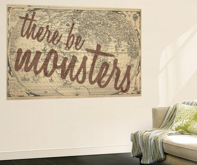 There Be Monsters - 1562, World Map