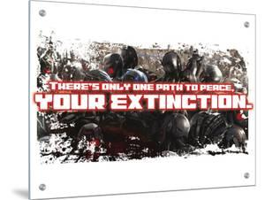 There's Only One Path to Peace, YOUR EXTINCTION. The Avengers: Age of Ultron