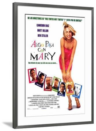 There's Something About Mary - Spanish Style--Framed Poster