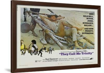 They Call Me Trinity--Framed Poster