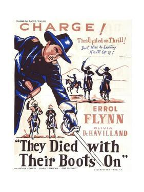 They Died with their Boots On, 1941