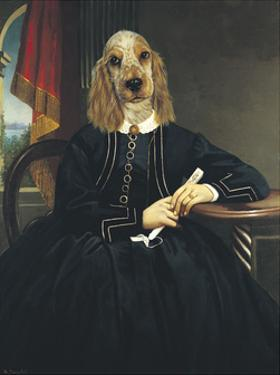 Ancestral Canines IV by Thierry Poncelet