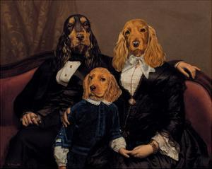 La Famille Content by Thierry Poncelet