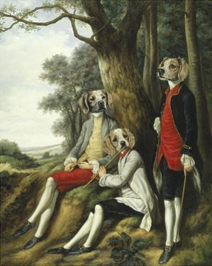 Les Joueurs de Flute by Thierry Poncelet