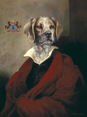 The Red Cape Spaniel by Thierry Poncelet