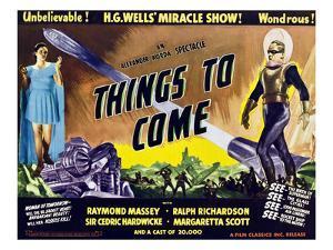 Things to Come, From Left: Margaretta Scott, Raymond Massey, 1936
