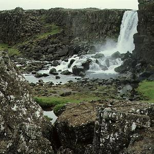 Thingvellir, 'Parliament Plains', Where the National Assembly, Althing, Met