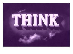 Think, Purple