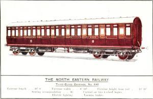 Third Class Carriage, No. 646, North Eastern Railway