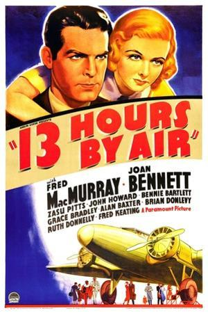 THIRTEEN HOURS BY AIR (aka 13 HOURS BY AIR)
