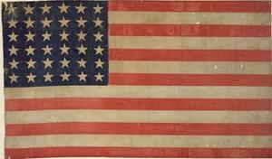 Thirty-Six Star American Flag
